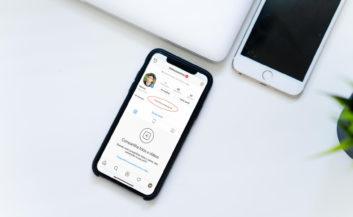 Como centralizar a bio do Instagram